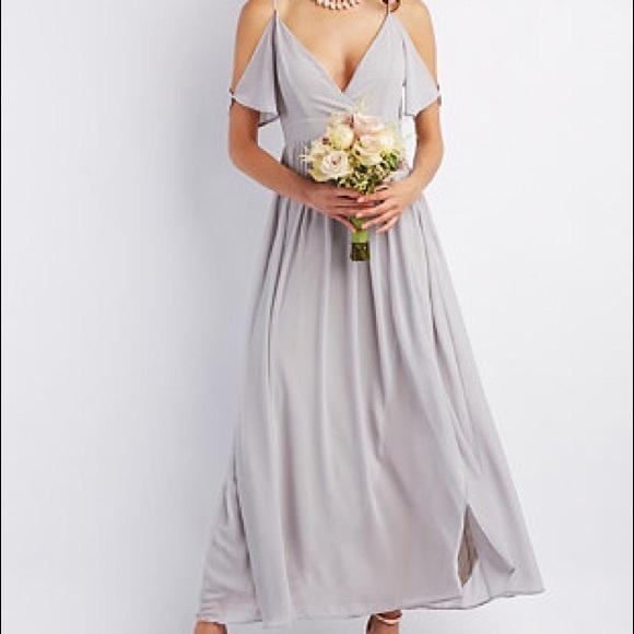 Charlotte Russe Dresses | Bridesmaidprom Dress Sm | Poshmark